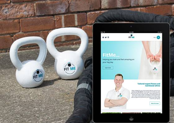 FitMe Fitness Website Midas Creative