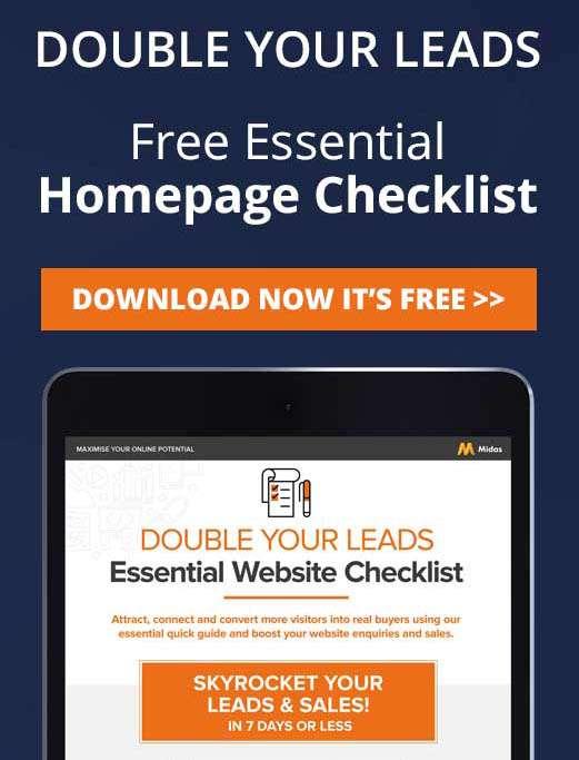 Website Homepage Checklist