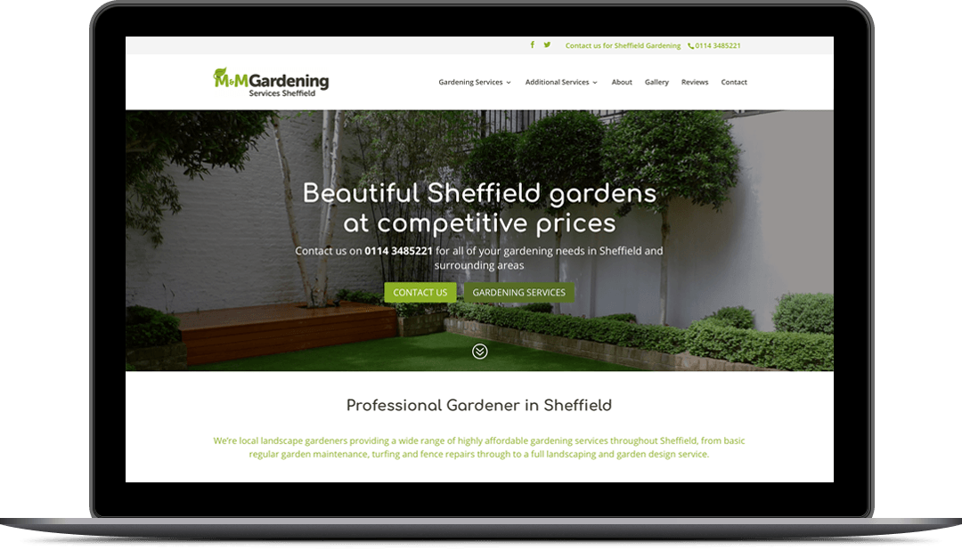Landscape Gardeners Sheffield Gardening website design mansfield web design midas creative local gardening services website design workwithnaturefo
