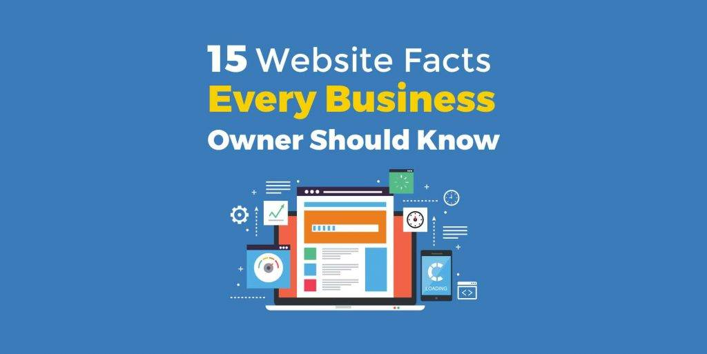 15 website facts for business owners