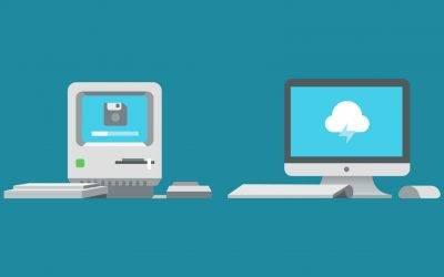 Change in web design – old sites vs new
