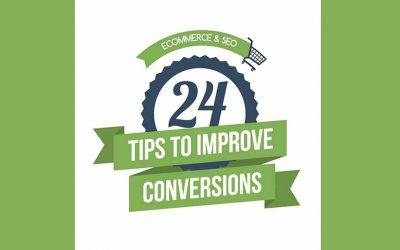 24 ecommerce tips to drive more sales (infographic)