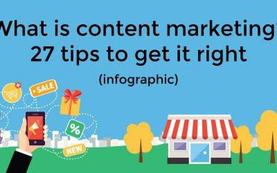 What is content marketing? 27 tips to get it right (infographic)