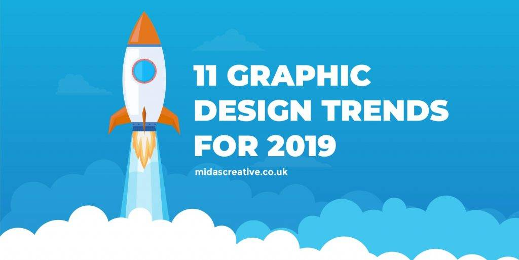 11 Creative Graphic Design Trends for 2019 Infographic