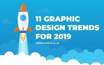 11 Creative Graphic Design Trends for 2019! (Infographic)