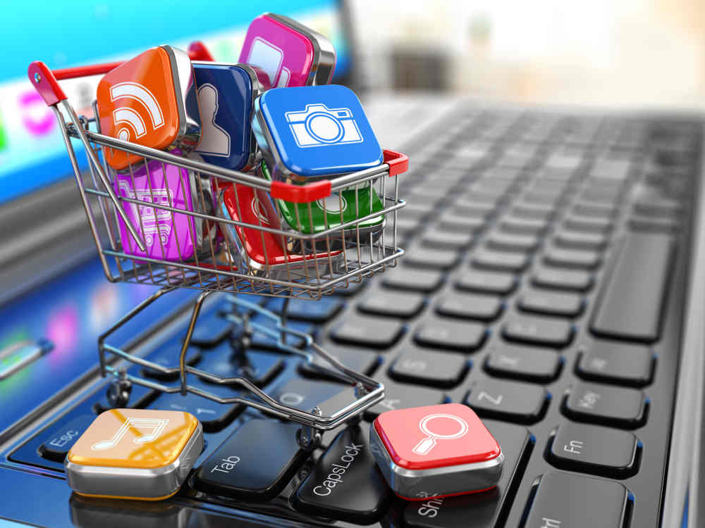 Showing social media as being important for online marketing activities