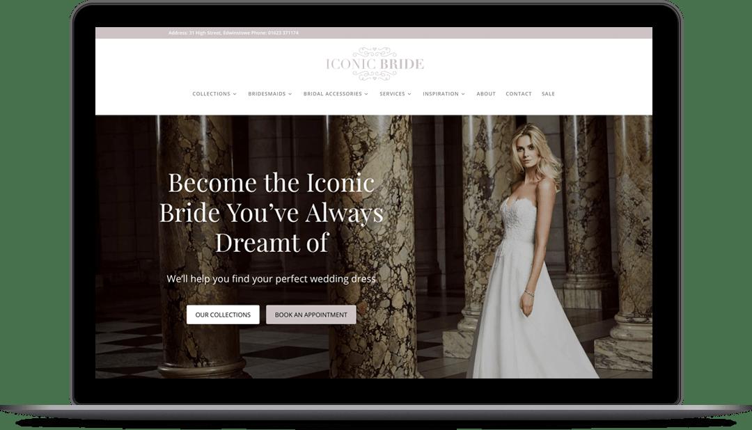 stonecrest marble website laptop
